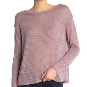 14th & Union Boatneck Long Sleeve Pullover